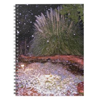 snow falling notebooks