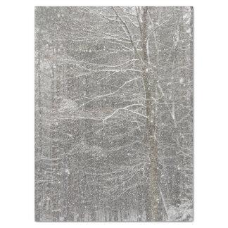 "Snow Falling Tissue Paper 17"" X 23"" Tissue Paper"