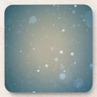 Snow Falling Winter Design Coaster