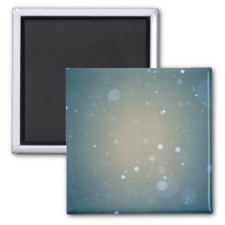 Snow Falling Winter Design Magnets