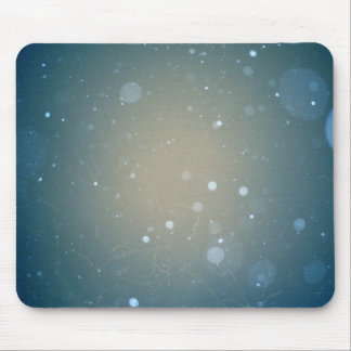 Snow Falling Winter Design Mouse Pad