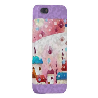 Snow falls iPhone 5 covers