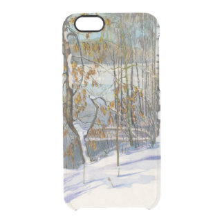 Snow fell clear iPhone 6/6S case