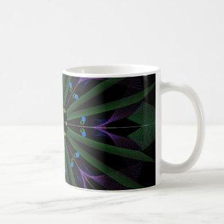 snow flake basic white mug