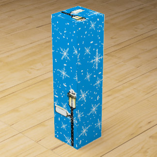 SNOW FLAKE by B.McNutt Wine Boxes