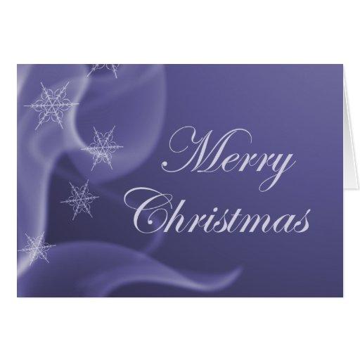 Snow Flake Christmas Card