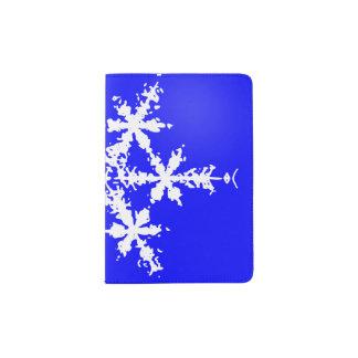 Snow Flake Custom Passport Holder