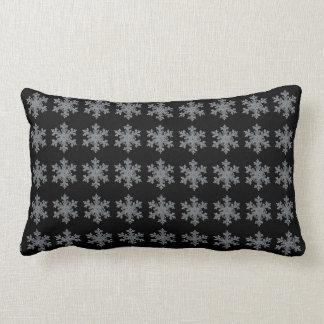Snow flake lumbar pillow