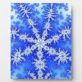 Snow Flake Plaque