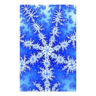 Snow Flake Stationery