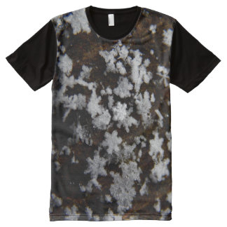 Snow Flakes All-Over Print T-Shirt
