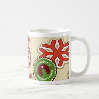 Snow Flakes Basic White Mug