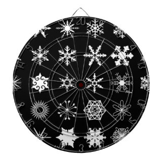 Snow Flakes Collection Dartboard