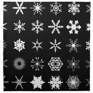 Snow Flakes Collection Napkin