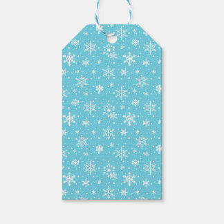 Snow Flakes Frozen Blue
