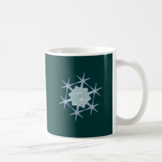Snow flakes snow flake mug