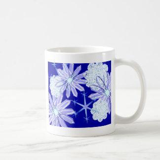Snow flakes snow flakes mugs