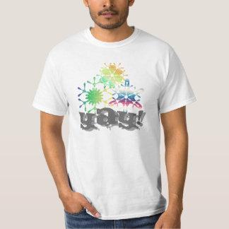 snow flakes Yay! T-Shirt