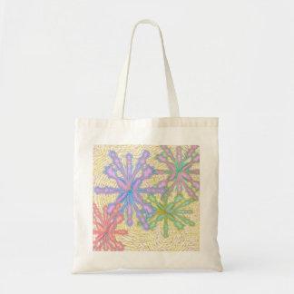Snow flurry tote bag