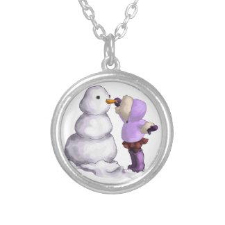 Snow Friend Pendants