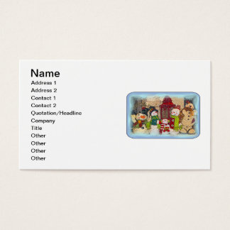 SNOW FRIENDS BUSINESS CARD