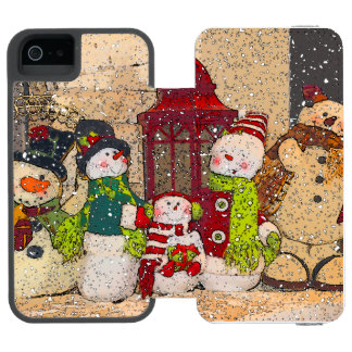 SNOW FRIENDS INCIPIO WATSON™ iPhone 5 WALLET CASE