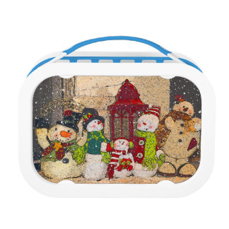 SNOW FRIENDS LUNCH BOXES