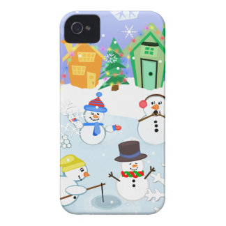 Snow Friends Snow Day BlackBerry Barely There Case Blackberry Case