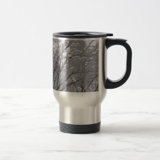 Snow Frosted Branches In Vermont Mugs