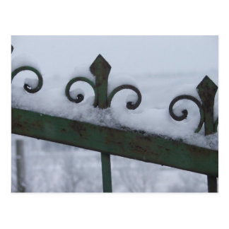 snow gate postcard