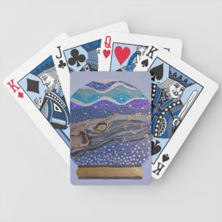Snow globe 2 bicycle playing cards