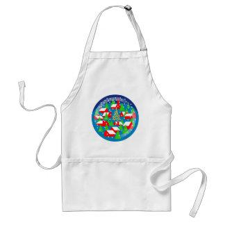 Snow Globe apron