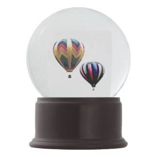 Snow Globe - Hot Air Balloons Snow Globes
