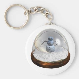 Snow Globe Keychain