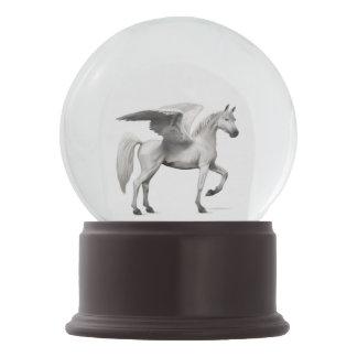 Snow Globe - Pegasus White Customize