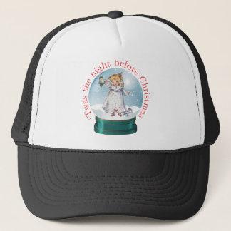 Snow Globe Trucker Hat