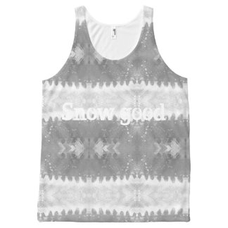 Snow good All-Over print singlet