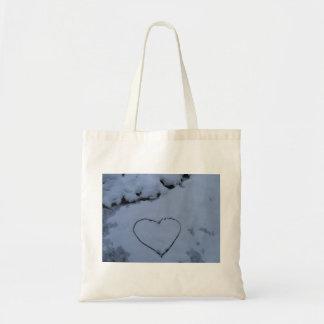 Snow Heart Bag