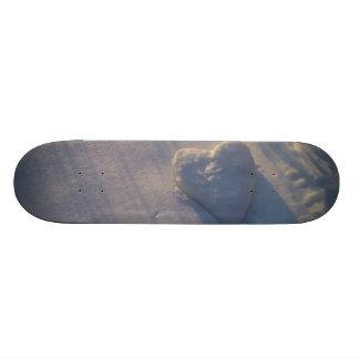 Snow Heart Skateboard