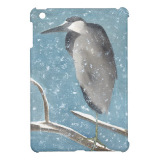 Snow Heron Cover For The iPad Mini