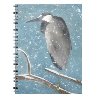Snow Heron Notebook