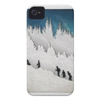 Snow Hike II iPhone 4 Cases