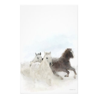 Snow Horses - Stationary Stationery