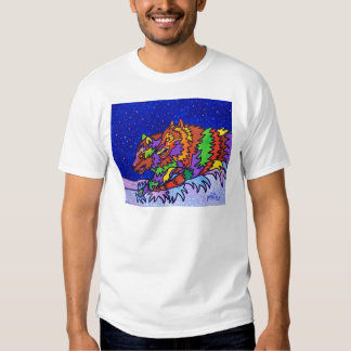 Snow Hunt by Piliero T-Shirt