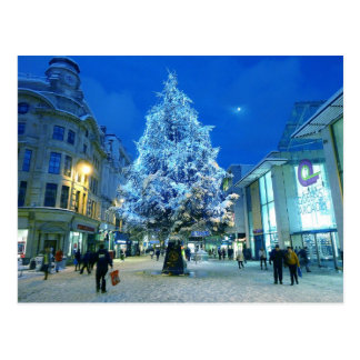 Snow in Cardiff Post Cards