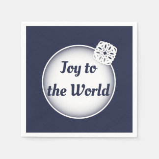 Snow Joy to the World | Paper Napkins