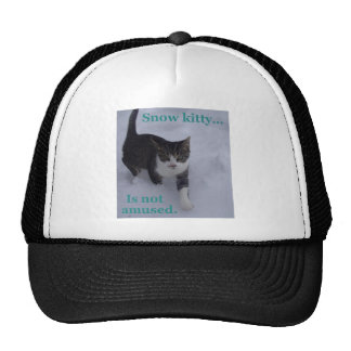 Snow Kitty Hat
