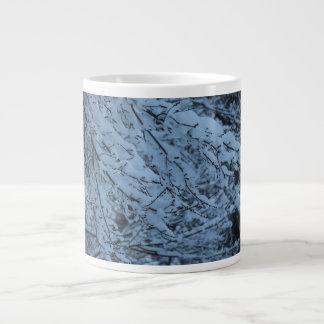 Snow Laden Branches Jumbo Mug