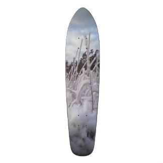 snow landscape skateboard decks