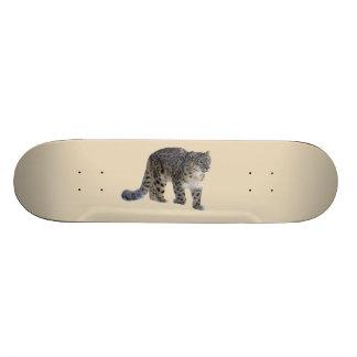 Snow Leopard 21.6 Cm Old School Skateboard Deck